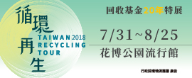 循環再生-回收基金20年特展